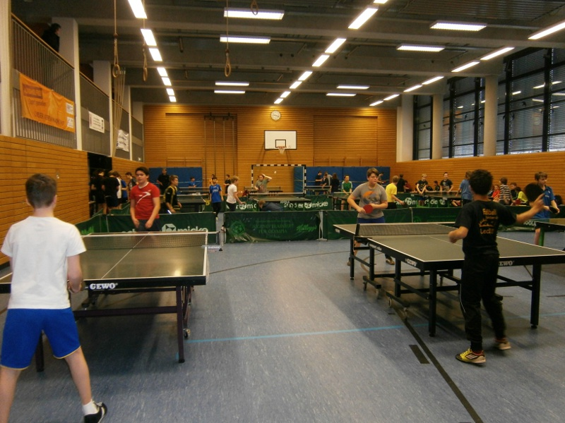 Jugend trainiert für Olympia 2014 - Table Tennis