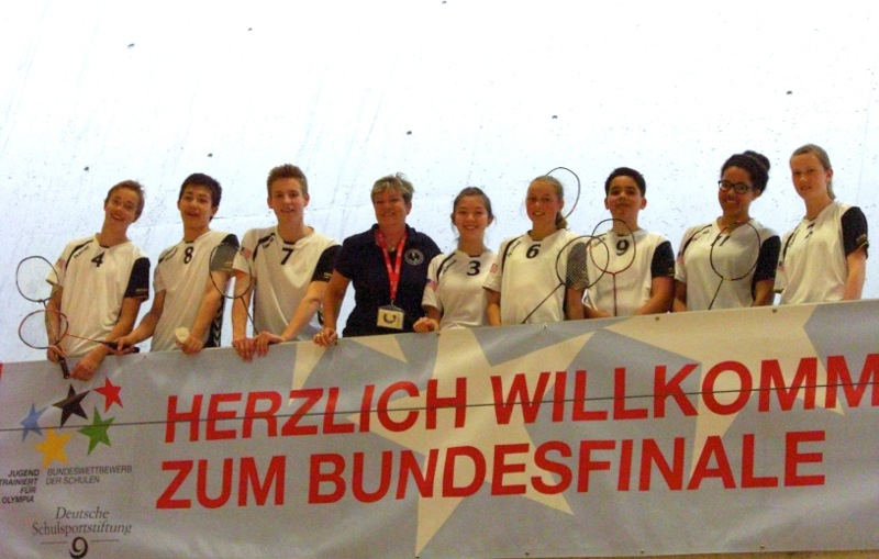 Bundesfinale Badminton 2015