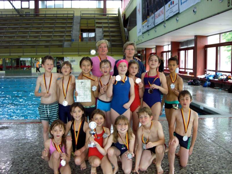 3. Klassen Schwimmteam