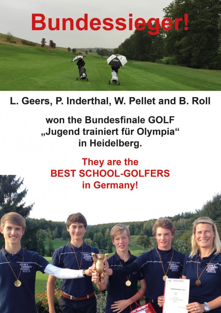 Golf Bundessieger 2015