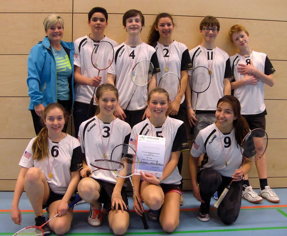 Badminton Team WKIII