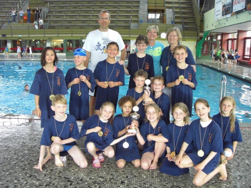 Schwimmwettkampf 3. Klassen Berlin Finale